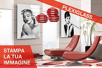 Stampa personalizzata su Plexiglass