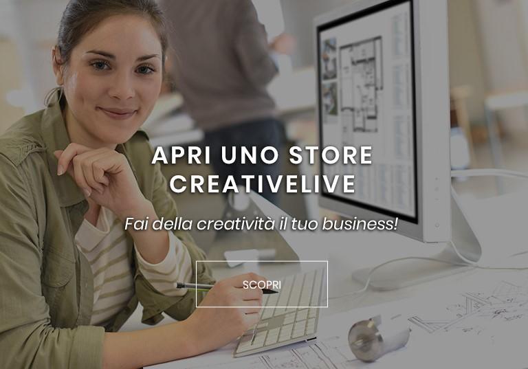 Apri uno store Creativelive